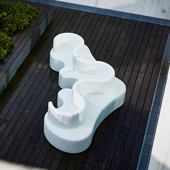 Cloverleaf In-and-Outdoor Sectional Sofa