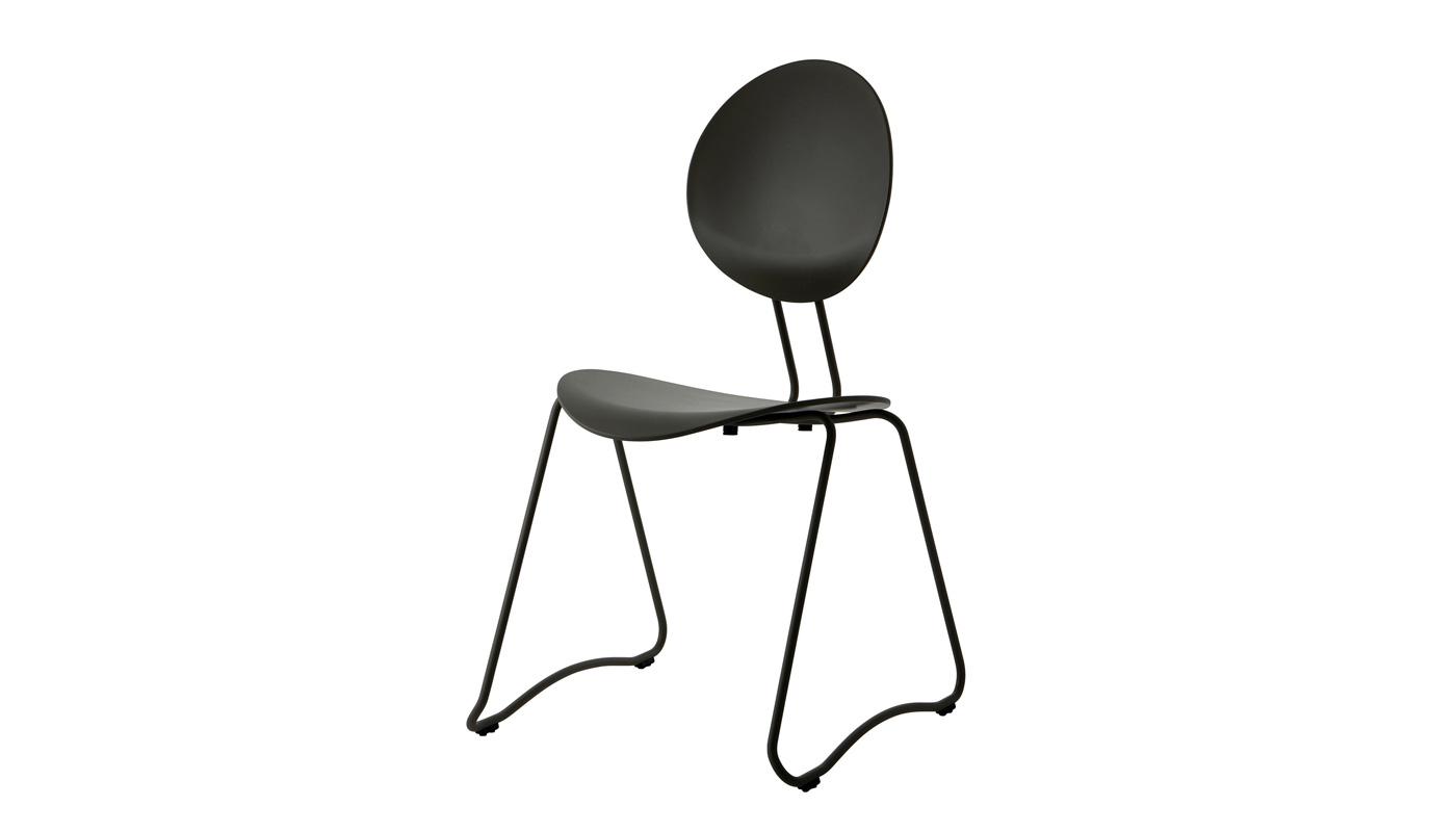 Flex Dining Chair - Black - Quickship