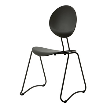 Flex Dining Chair - Black - Quickship