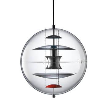 VP Globe Colored Glass Suspension Light