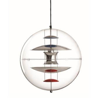 VP Globe Suspension Light - Chrome