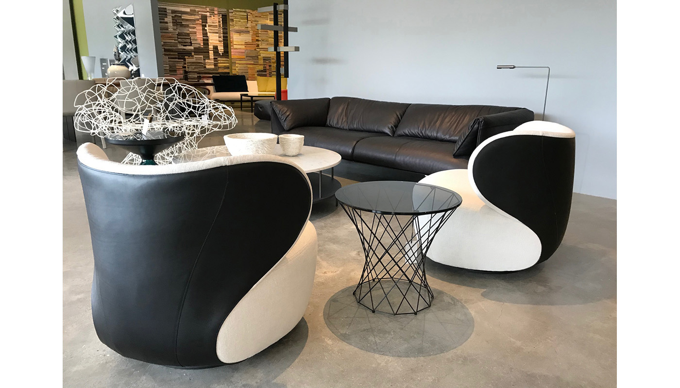 Bao Lounge Chair - In Our Showroom