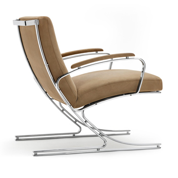 Berlin Lounge Chair with Arms