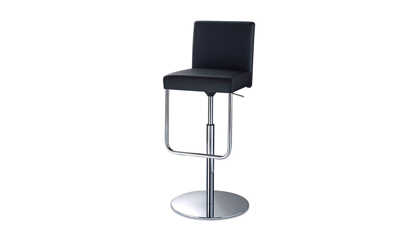 Jason Bar Stool with Pedestal Base