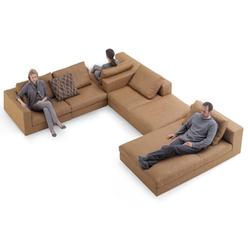 Living Landscape 750 Sectional Sofa - In Our Showroom