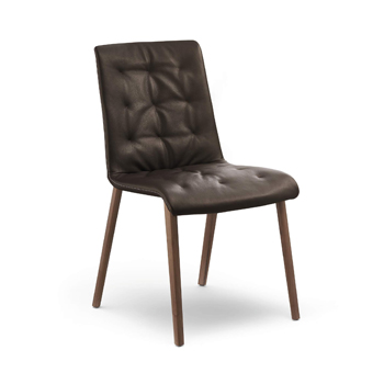 Liz Wood Dining Chair