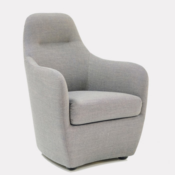 Bonnie Lounge Chair - In Our Showroom