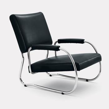 Freischwinger NR. 2 Lounge Chair