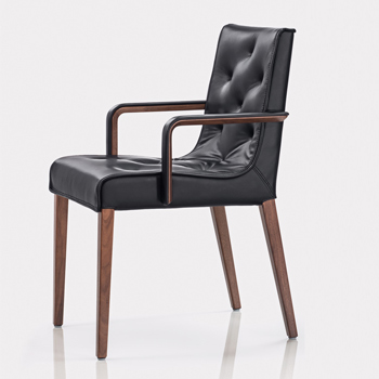Leslie Dining Chair with Arms