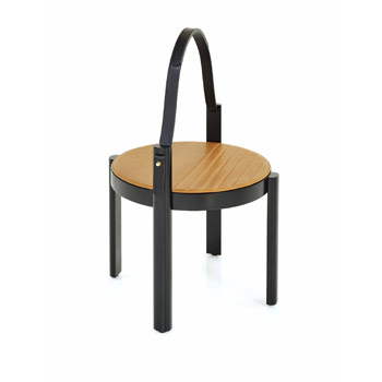 Melange Small Table with Handle
