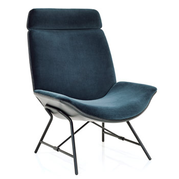 Melange Highback Lounge Chair