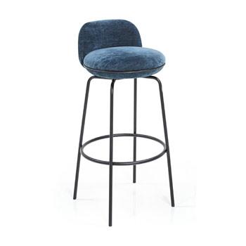Merwyn Bar Stool with Backrest