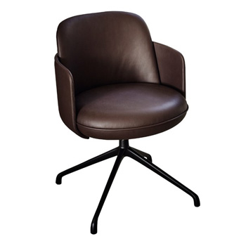 Merwyn Dining Chair with Arms - Swivel