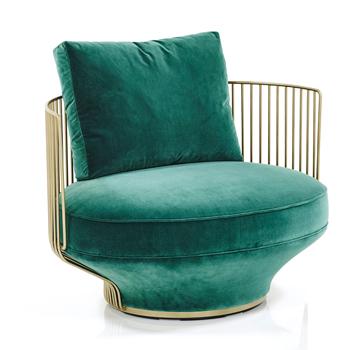Paradise Bird Lounge Chair - Low