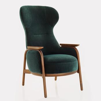 Vuelta High Back Lounge Chair