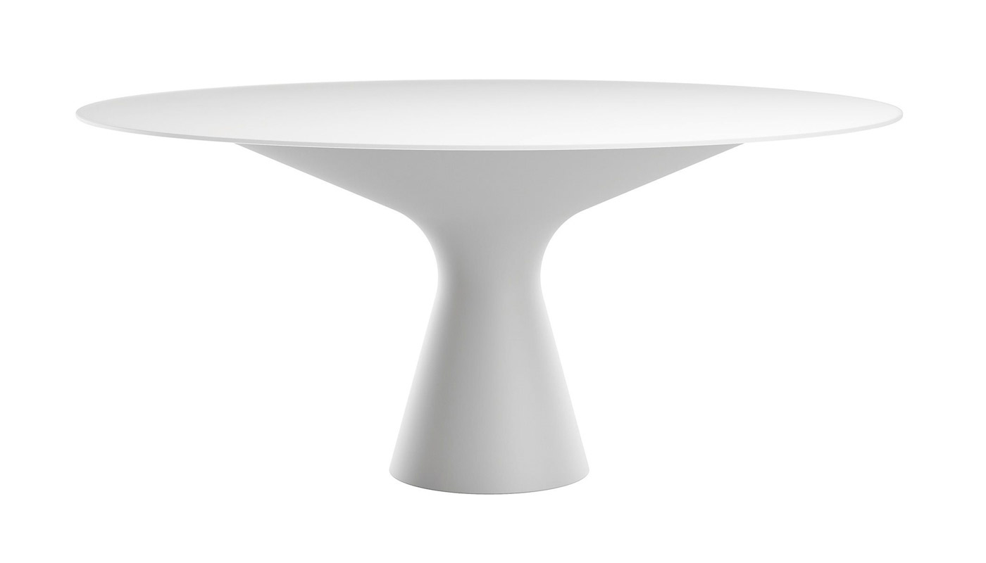 Blanco Dining Table - Glass Top - Quickship
