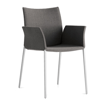 Lia Dining Chair with Arms - Quickship