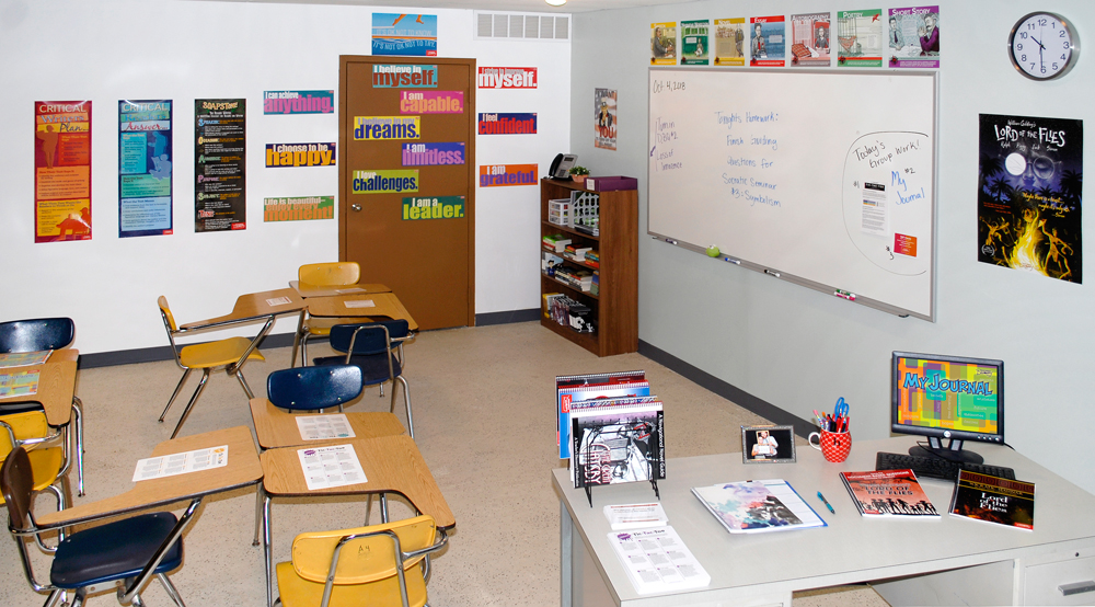 Canonical Middle School Classroom