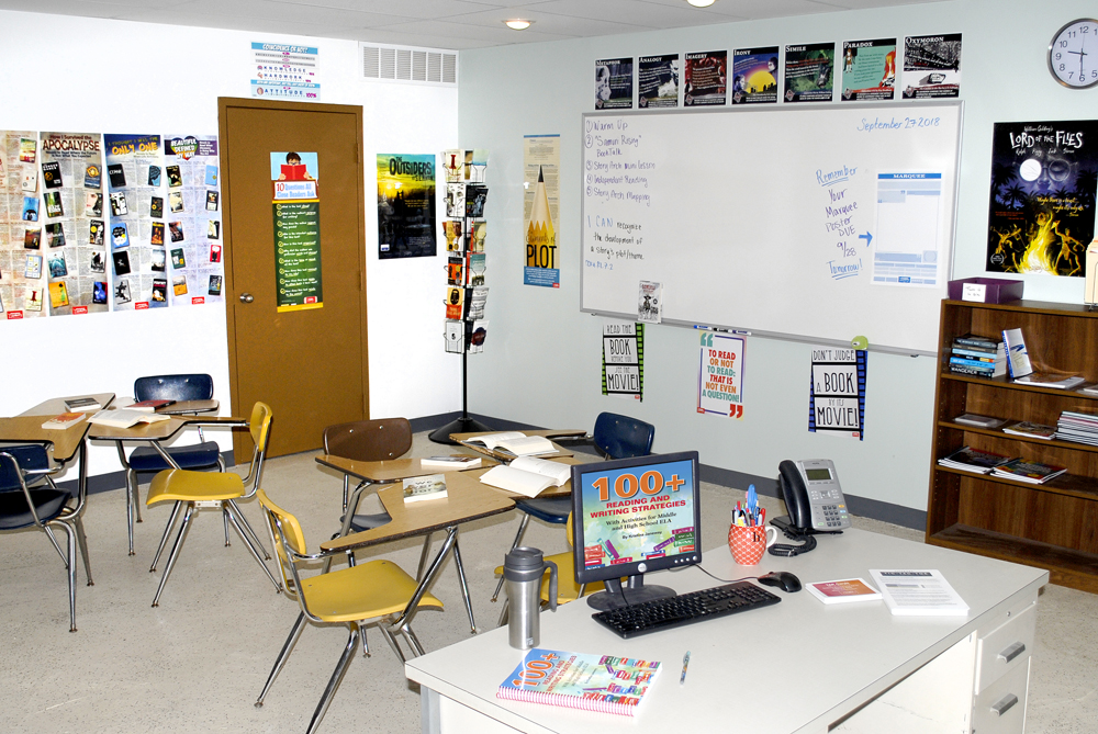 YA Reading Workshop Classroom