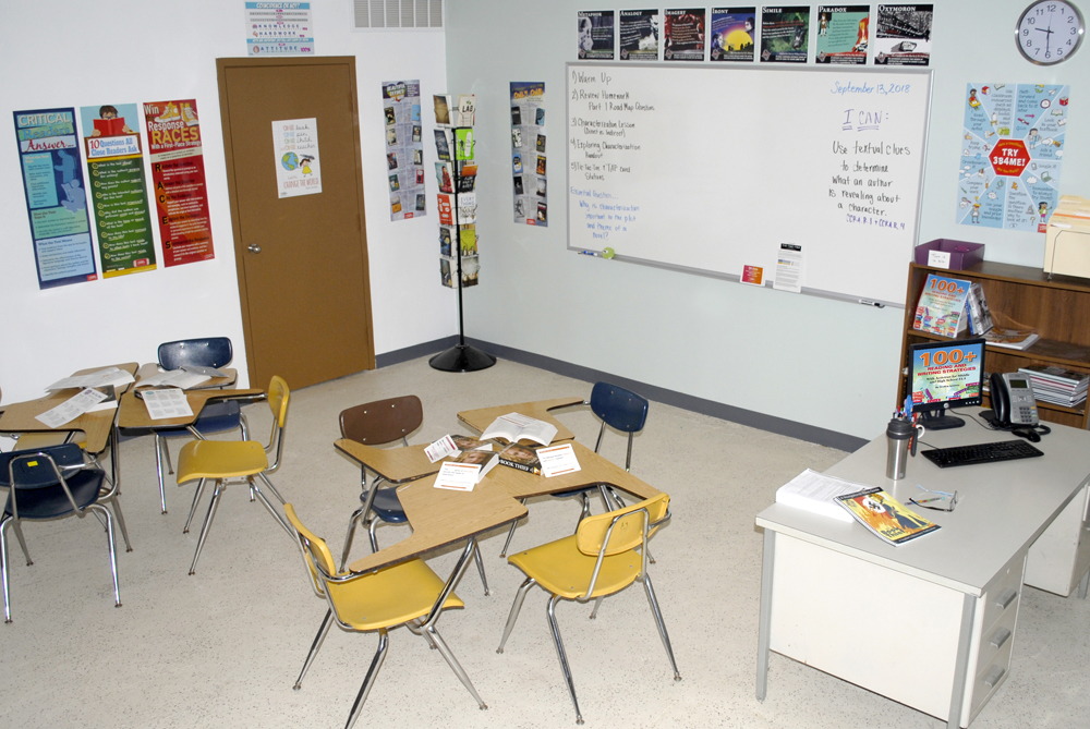 YA Reading Classroom