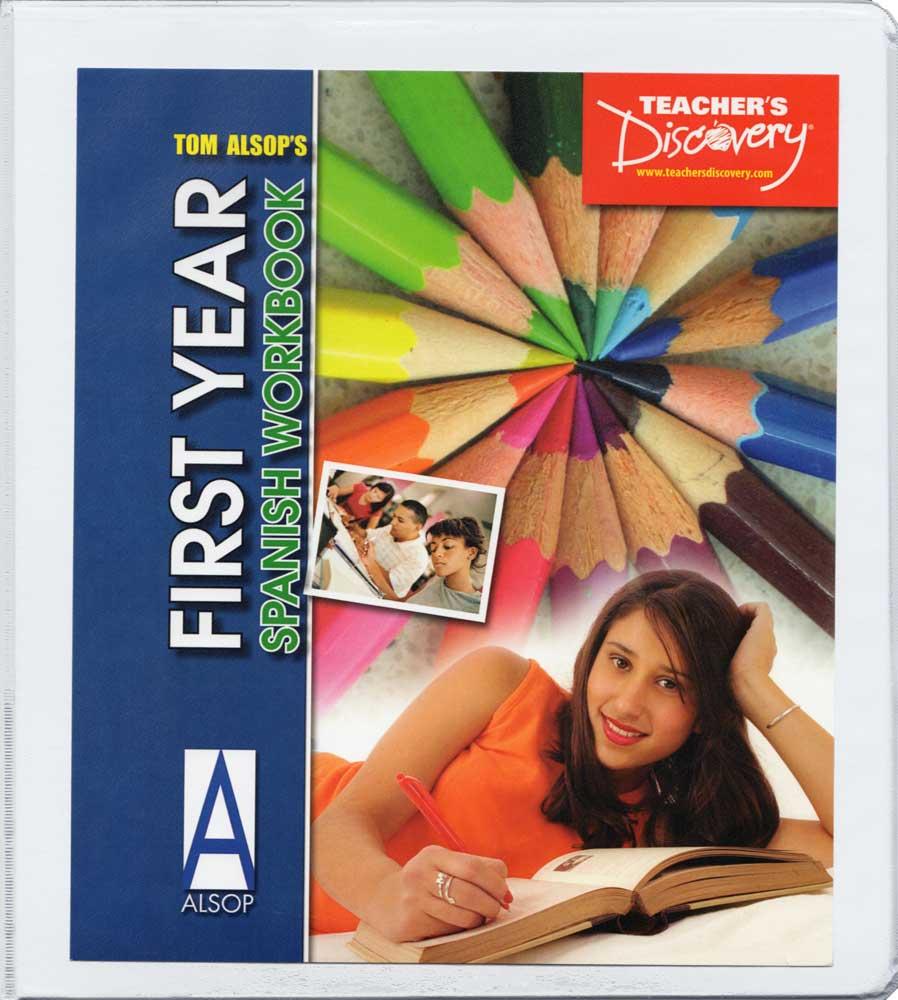 Tom Alsop's First Year Spanish Workbook Reproducible Book, Spanish ...