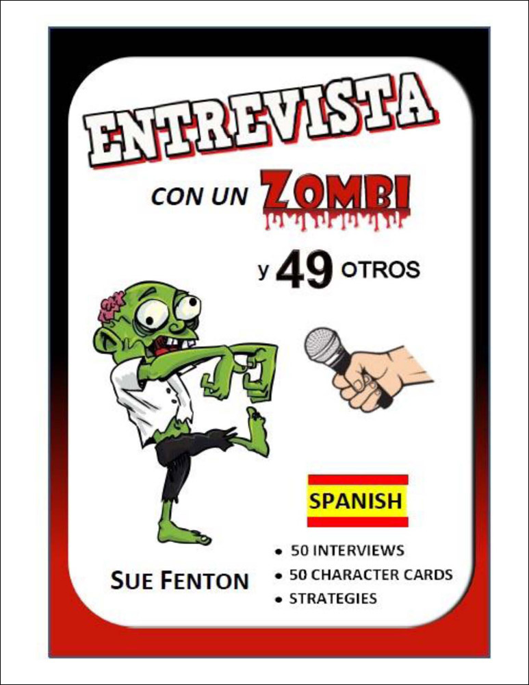 Entrevista con un zombi Spanish Activity Book