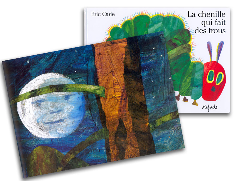 The Very Hungry Caterpillar French Story Book