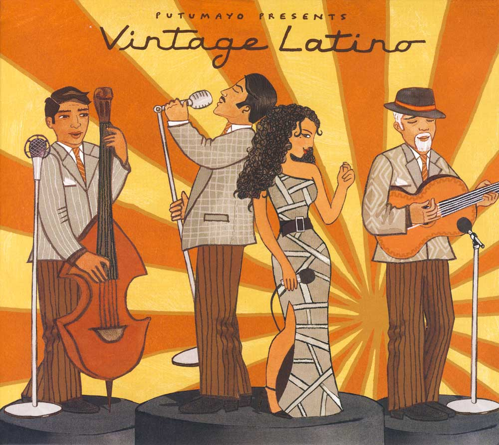 Putumayo Vintage Latino Spanish CD