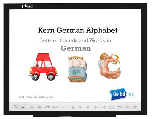German Kern Alphabet Presentation