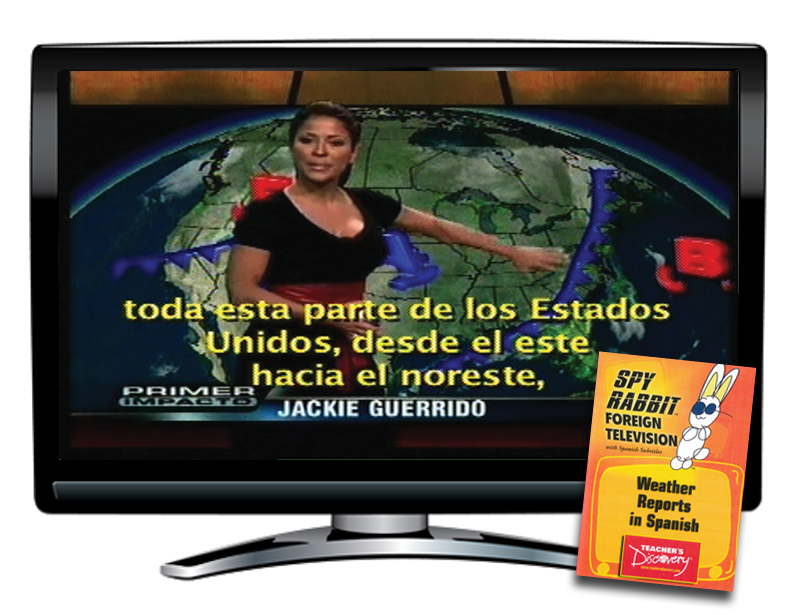 Weather Reporting in Spanish Spy Rabbit DVD