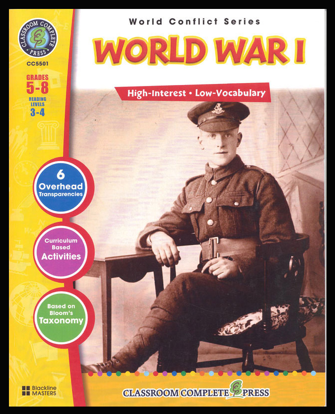 World War I Activity Book