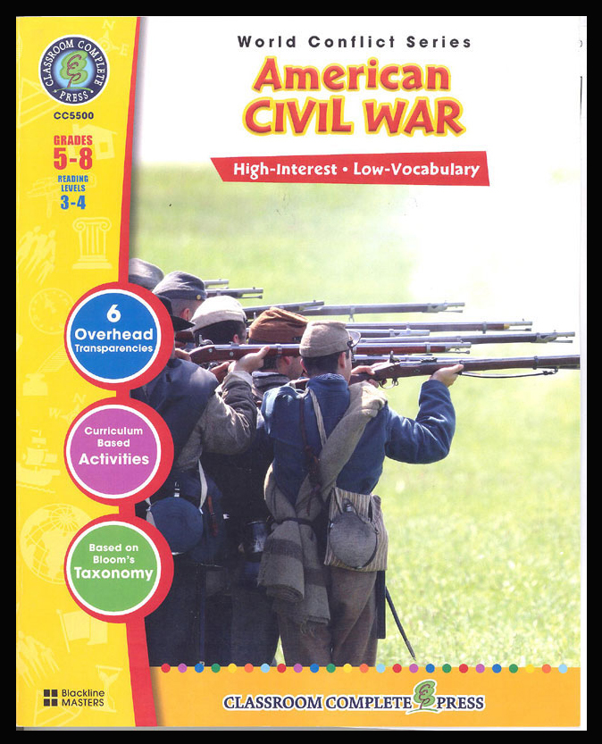 American Civil War Activity Book