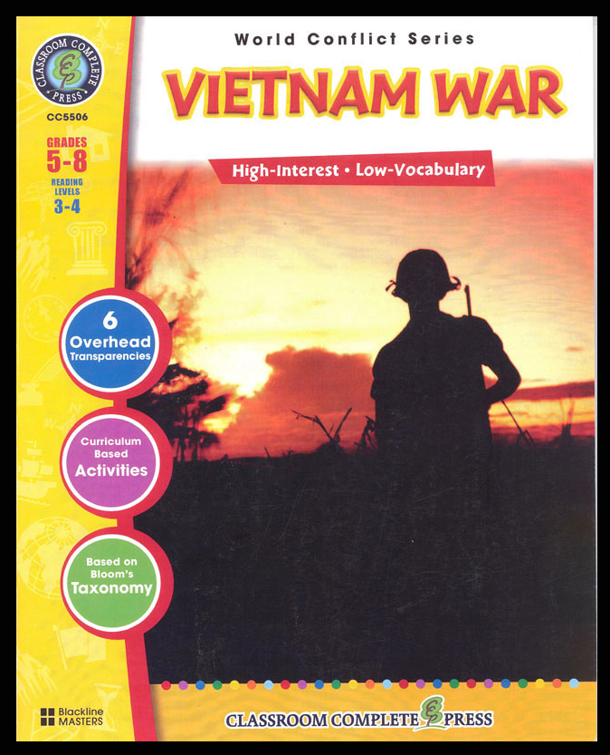 Vietnam War Activity Book