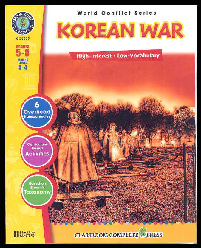Korean War Activity Book