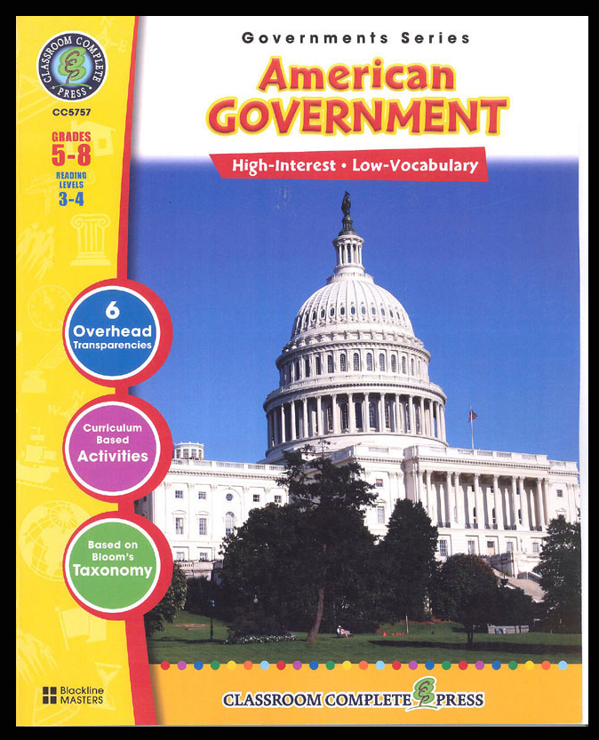 American Government Activity Book