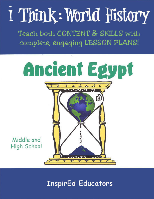 i Think: World History, Ancient Egypt Activity Book