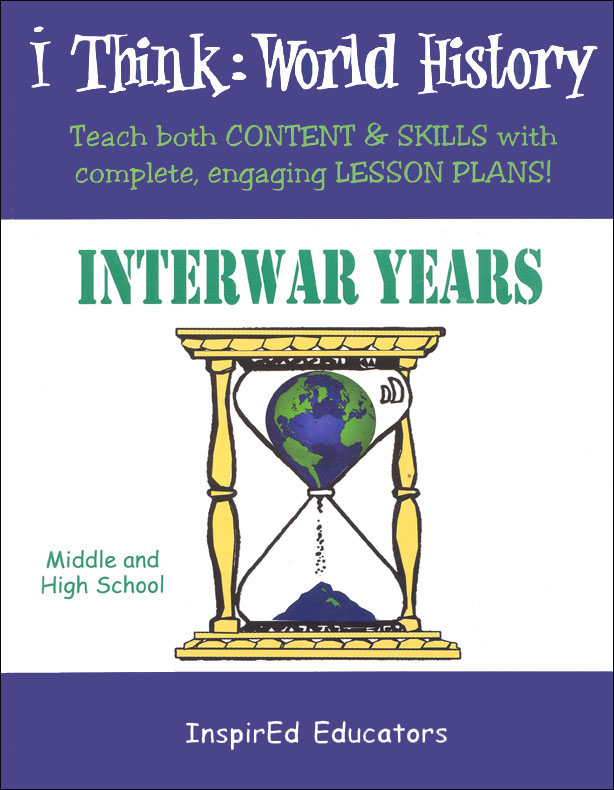 i Think: World History, Interwar Years Activity Book