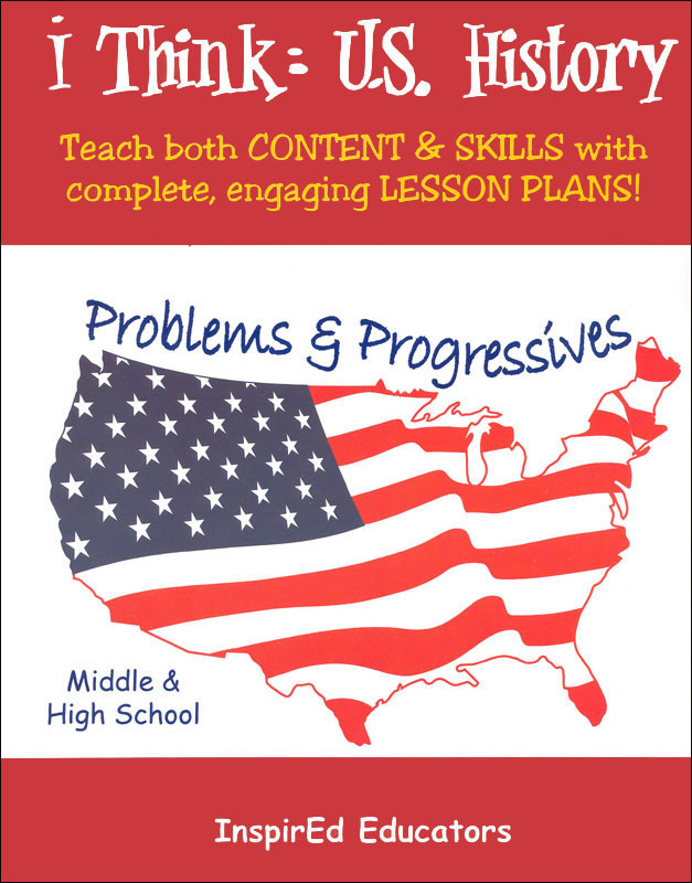 i Think: U.S. History, Problems & Progressives Activity Book