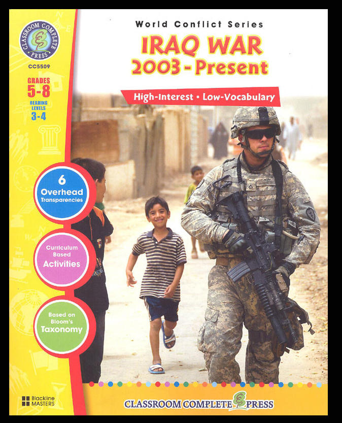 Iraq War (2003-Present) Activity Book