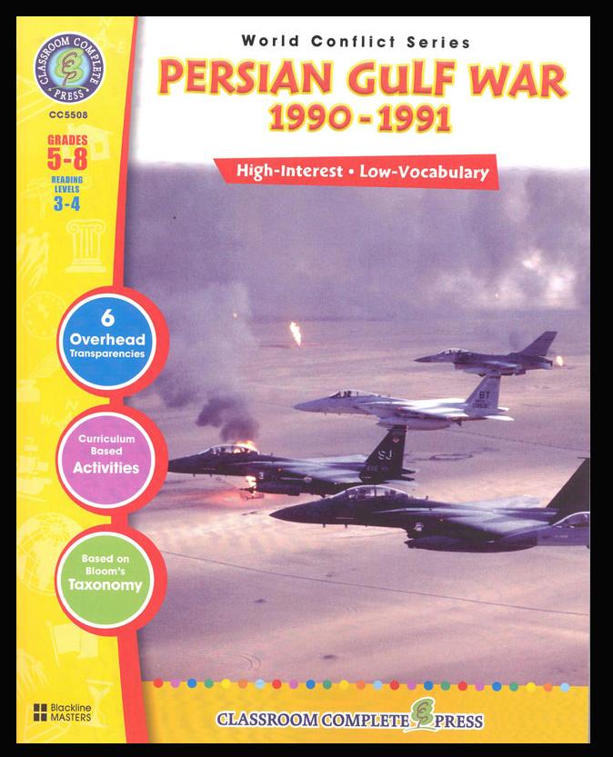 Persian Gulf War (1990-1991) Activity Book