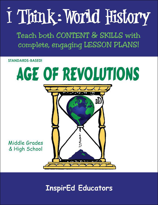 i Think: World History, Age of Revolutions Activity Book