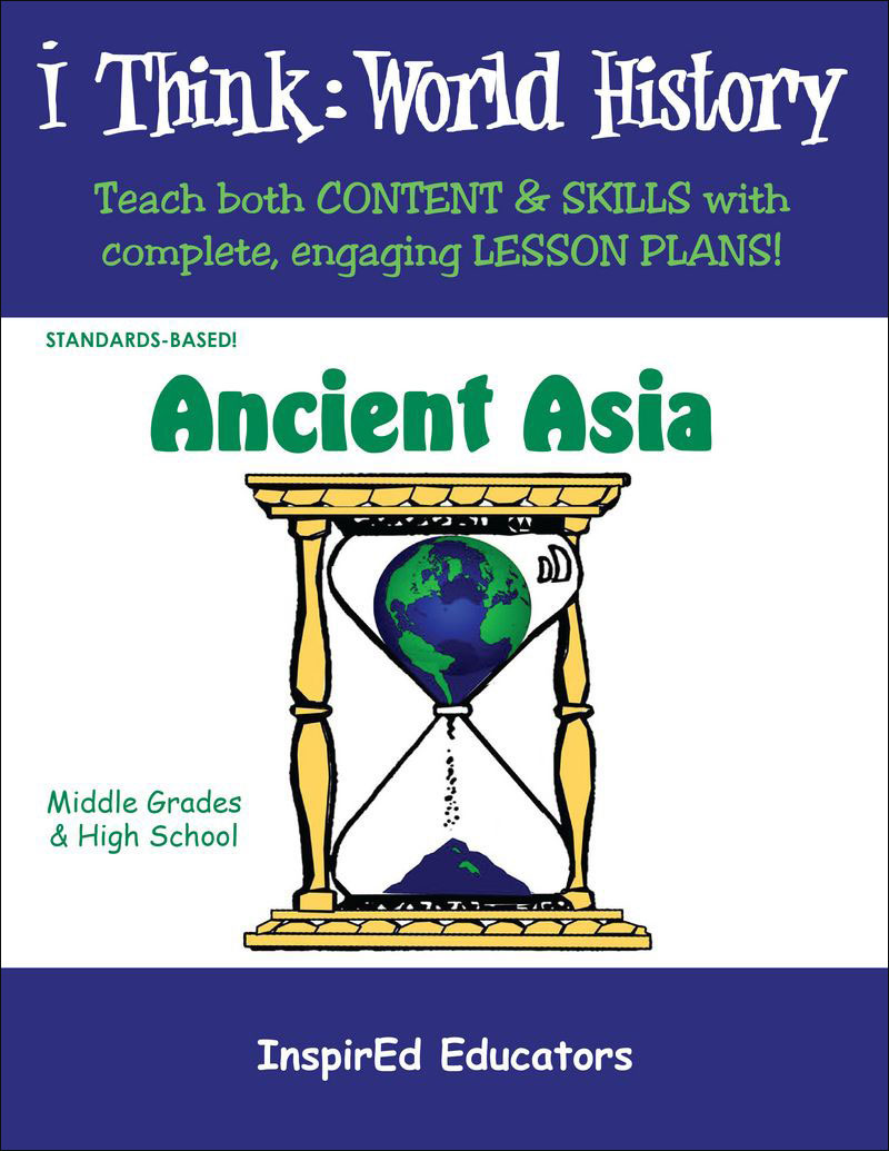 i Think: World History, Ancient Asia Activity Book