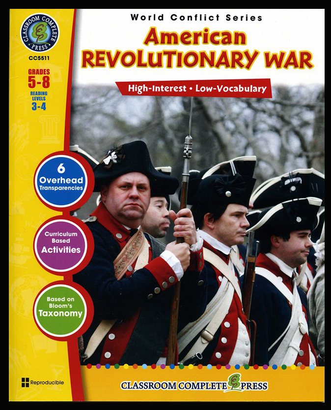 American Revolutionary War Activity Book