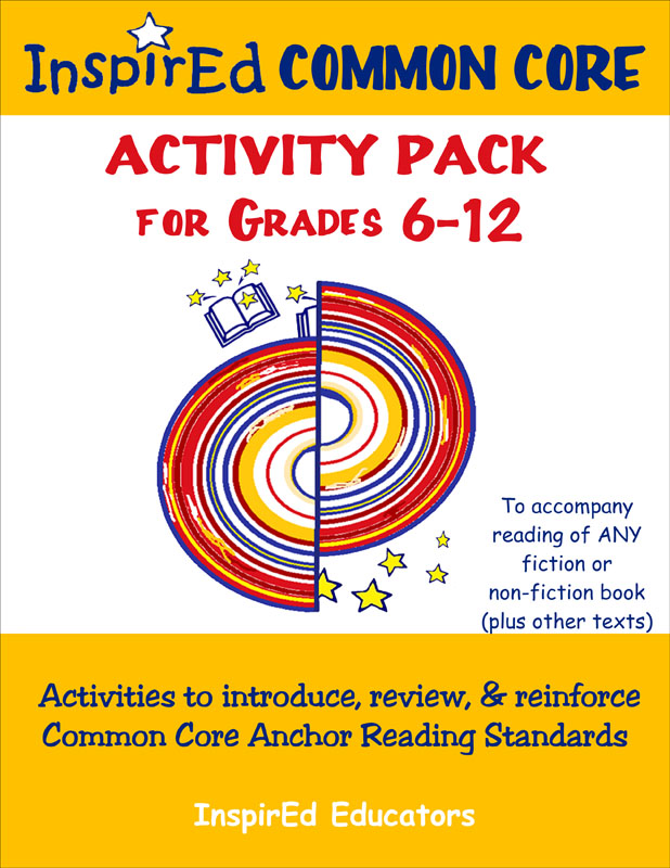 Common Core Activity Pack for Grades 6-12 Book
