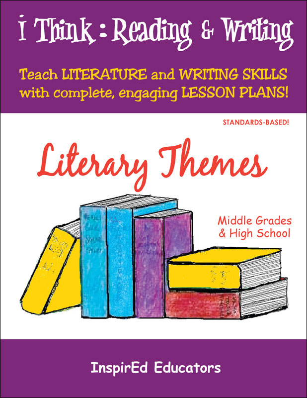 i Think: Reading & Writing, Literary Themes Activity Book