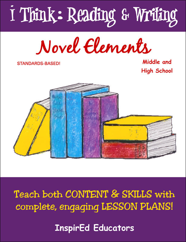 i Think: Reading & Writing, Novel Elements Activity Book