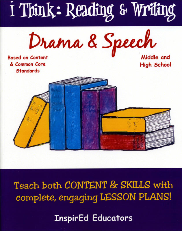 i Think: Reading & Writing, Drama & Speech Activity Book