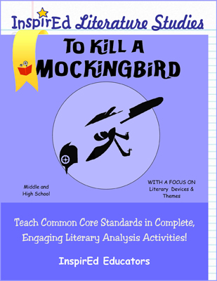 To Kill a Mocking Bird Literature Studies Book