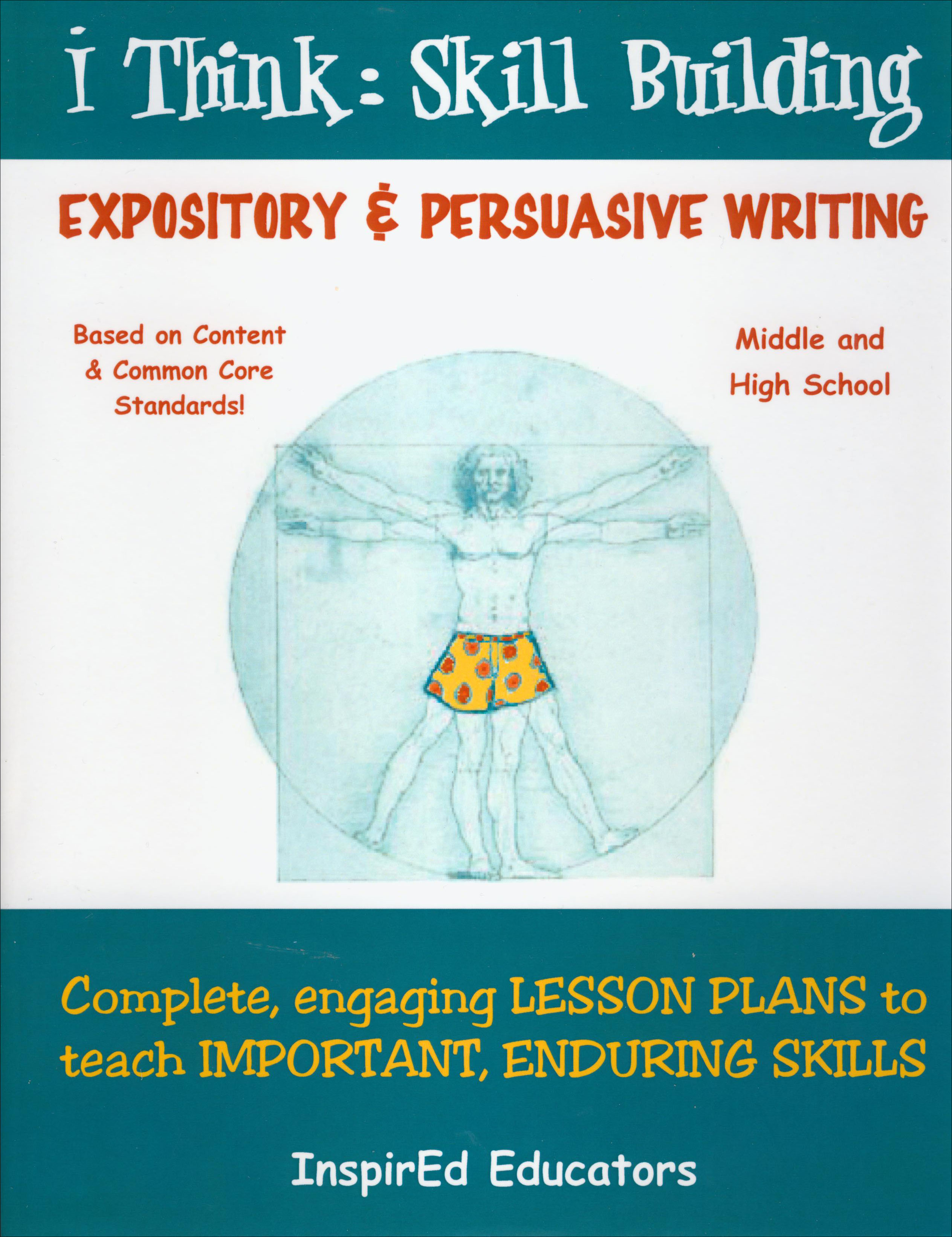 i Think: Skill Building, Expository and Persuasive Writing Activity Book