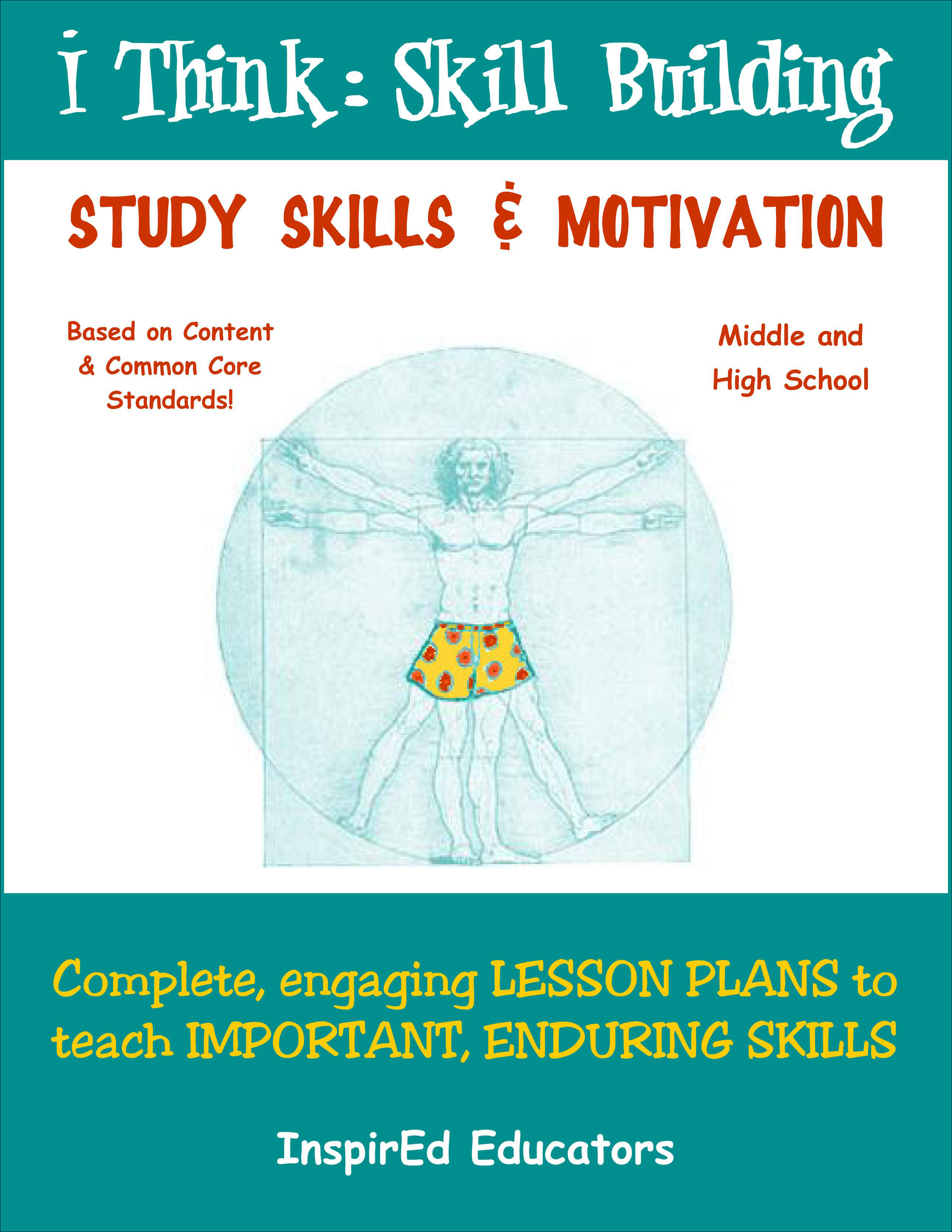 i Think: Skill Building, Study Skills, and Motivation Activity Book